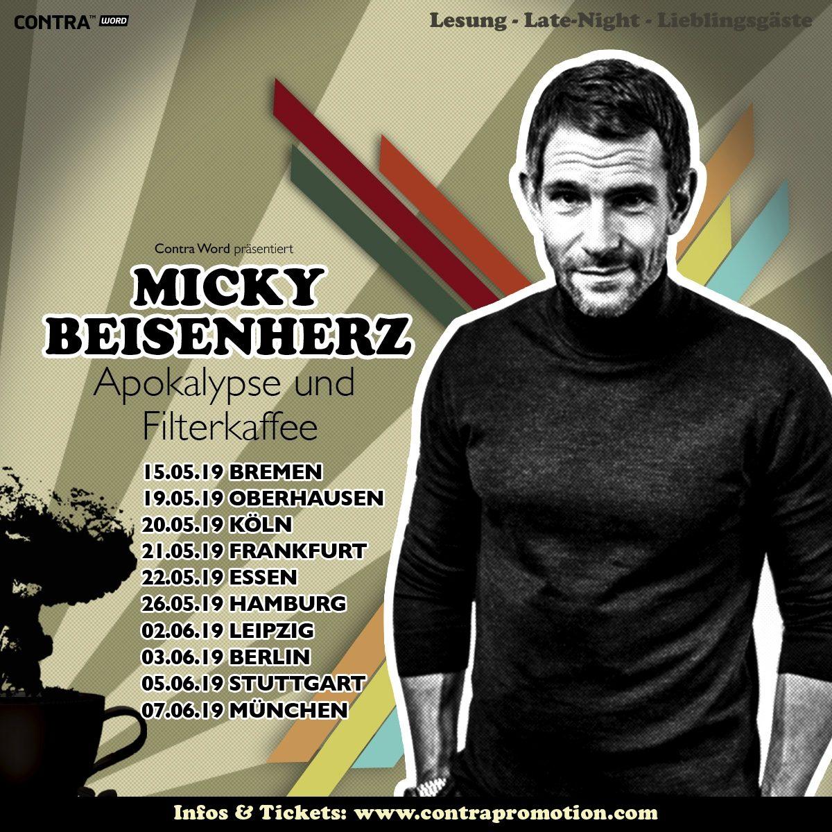 """#ApoFika 01, auf Tour mit Micky Beisenherz """"Vor der Tour ist vor Bremen"""""""