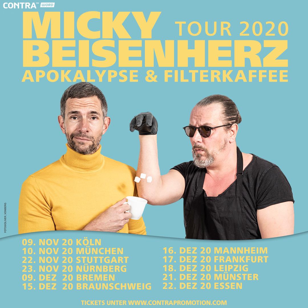 """#77 Micky Beisenherz, """"Endlich Ich & ApoFika2020 Tourplanung"""""""